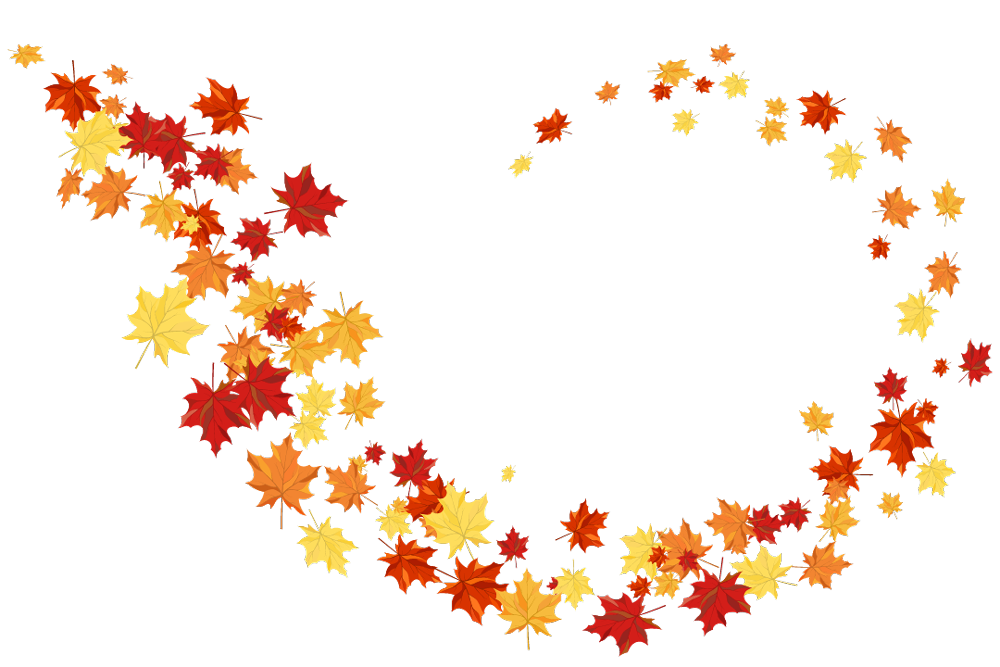 Leaves-swirl