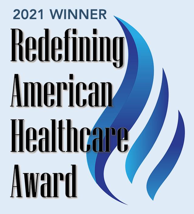 RedefiningAmericanHealthcareAwardWinnerSeal